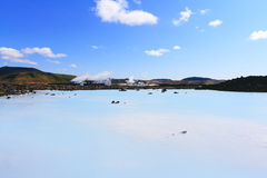 The blue Lagoon, Iceland Stock Image