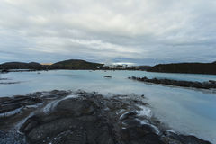 The blue lagoon in Iceland Stock Photography