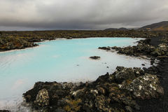 Blue lagoon, Iceland Stock Images