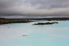 Blue lagoon, Iceland Royalty Free Stock Photos