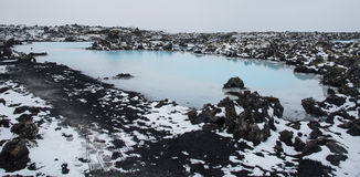 Blue lagoon Iceland Stock Photos