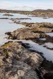 Blue Lagoon, Iceland. Royalty Free Stock Image