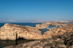 Blue Lagoon - Island of Comino - Malta stock photo