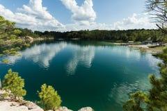 Blue lagoon Royalty Free Stock Image