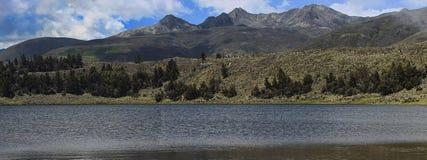 Blue Lagoon. Laggon Mucubaji in state Merida Venezuela Royalty Free Stock Photography