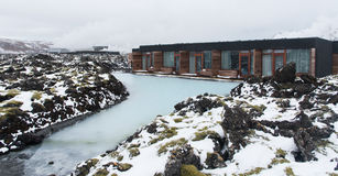 Blue lagoon lake  Iceland Royalty Free Stock Photos