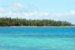 The Blue Lagoon on Nanuya Lailai Island Fiji Stock Photos