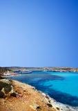 The blue lagoon Stock Image