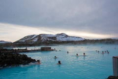 Blue Lagoon Rexlaxing Stock Image