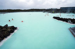 Blue Lagoon Stock Images