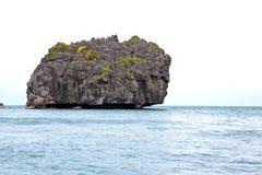 Blue lagoon  in thailand kho phangan  bay  a  water   china se Royalty Free Stock Photo