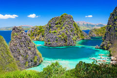 Blue Lagoon Stock Image
