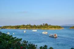 Blue Lagoon View Royalty Free Stock Photos
