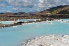 Blue Lagoon Stock Photos