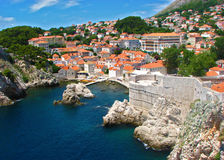 Blue Laguna. In Dubrovnik harbour Royalty Free Stock Photo