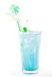 Blue laguna coctail Royalty Free Stock Images