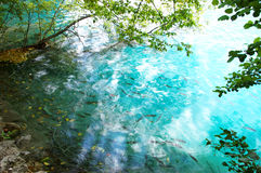 Blue lake Royalty Free Stock Photography