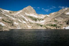 Blue Lake, Colorado Royalty Free Stock Image