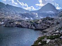 Blue lake in Colorado Stock Photo