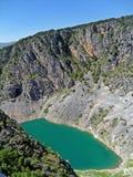 Blue Lake in Croatia Stock Images