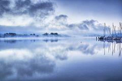 Blue, Lake, Lake Constance, Nature Stock Image