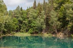 Blue lake. Stock Images