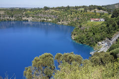 Blue Lake, Mount Gambier, South Australia Stock Photography