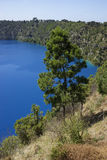 Blue Lake, Mount Gambier, South Australia Stock Photos