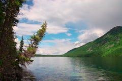 Blue lake and mountains. Royalty Free Stock Photos