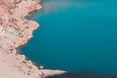 Blue lake Stock Images