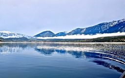 Blue lake and mountains. Stock Image