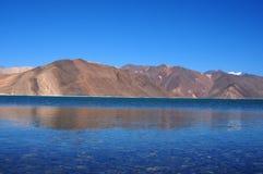 Blue lake Stock Photos