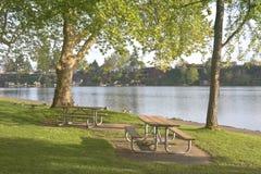 Blue Lake park Oregon state. Stock Photos