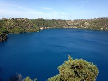 The Blue Lake Stock Images