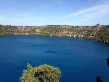 The Blue Lake Royalty Free Stock Photos