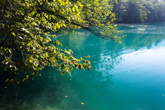 Blue Lake Russia Royalty Free Stock Image