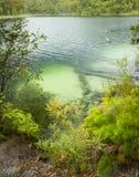 Blue Lake Stradbroke Island Stock Photo
