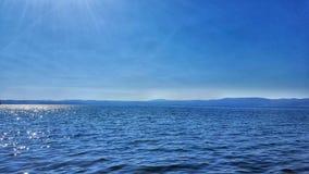 Blue lake Stock Image