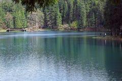 Blue lake Synevyr Stock Photo