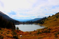 Blue Lakes Royalty Free Stock Images