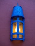 Blue lamp Stock Image