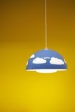 Blue lamp Royalty Free Stock Photos
