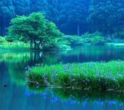 Blue Land Royalty Free Stock Image