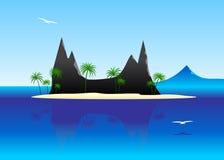 Blue landscape. Stock Photography
