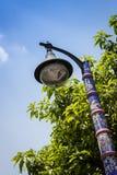 Blue lantern Stock Image