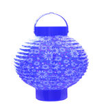 Blue Lantern Stock Photo
