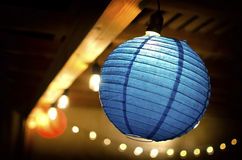 Blue Lantern Royalty Free Stock Images