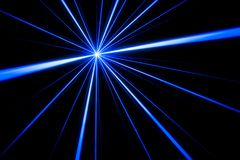 Laser beam light effect royalty free stock photo