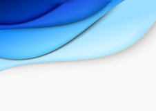 Blue layout - abstract template Stock Photo