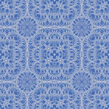 Blue leaf pattern Royalty Free Stock Photography